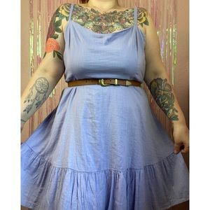 Old Navy Lilac Fit & Flare Cami Dress